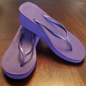 Havaiana flip flop wedge